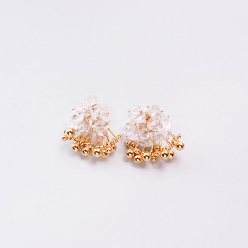 <CIITA>Aria Earrings - CRYSTAL