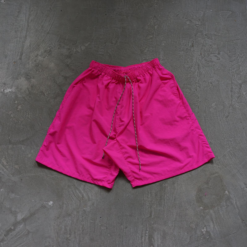 ACTIVE BAGGY SHORTS SUPPLEX NYLON PINK