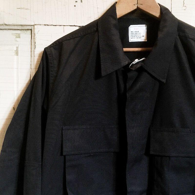 1990's US Military BDU Jacket Black 357 Deadstock