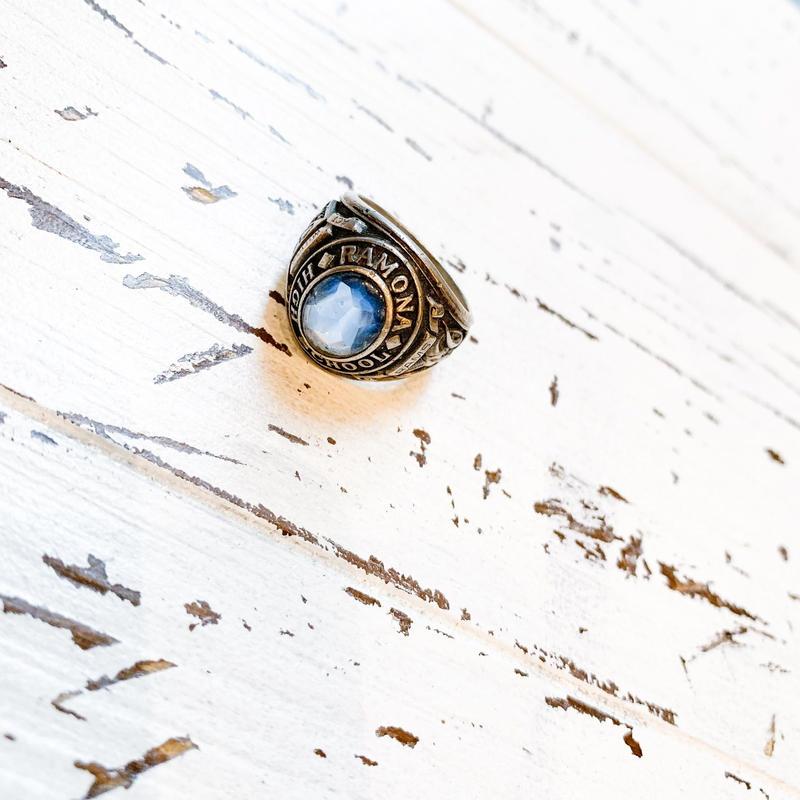 1960's  RAMONA HIGH SCHOOL College Ring