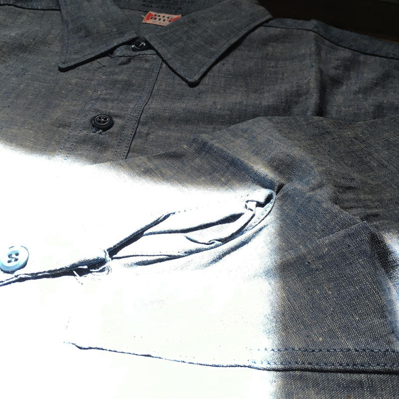 1960's BIG BILL Chambray L/S Shirt  Deadstock