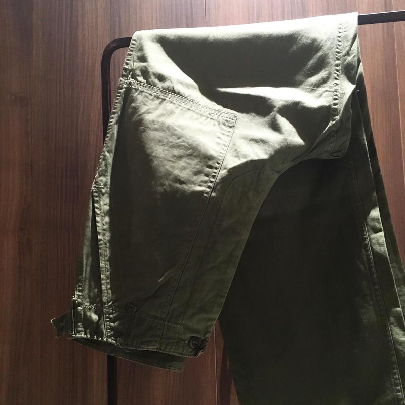 1960's US.ARMY Poplin Utility Trousers