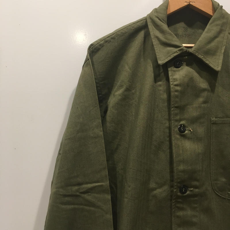 1940's〜 US.NAVY N-3 Herringborn Jacket Deadstock