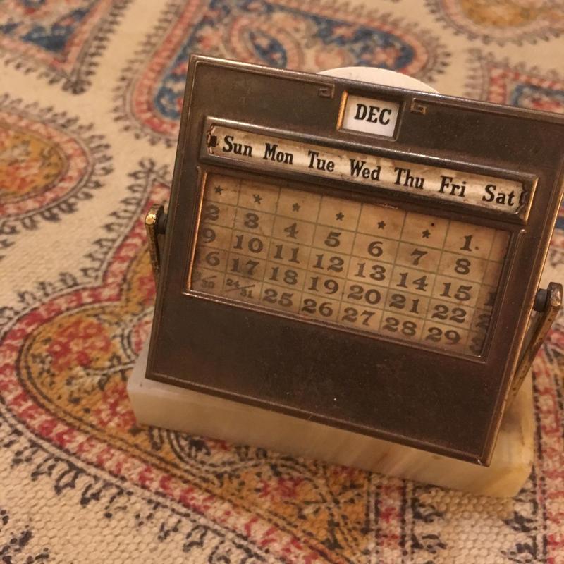 1920〜30's DIAMOND POINT.NY Desk Calender
