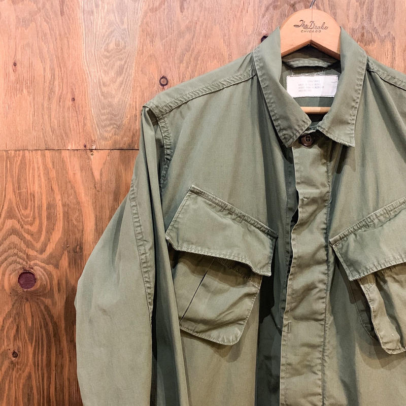 1960's US.ARMY Jungle Fatigue 2nd Jacket