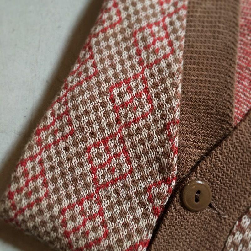 1940's Sportswear Cotton Cardigan Deadstock