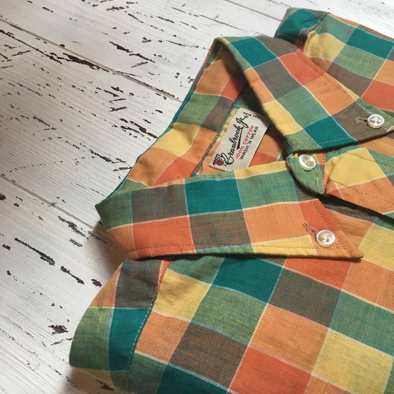 1960's grandrook Pullover L/S Shirt Deadstock