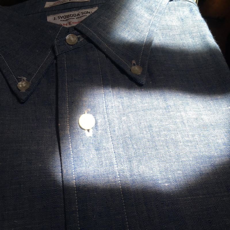1960's GANT Chambray S/S  Shirt Deadstock