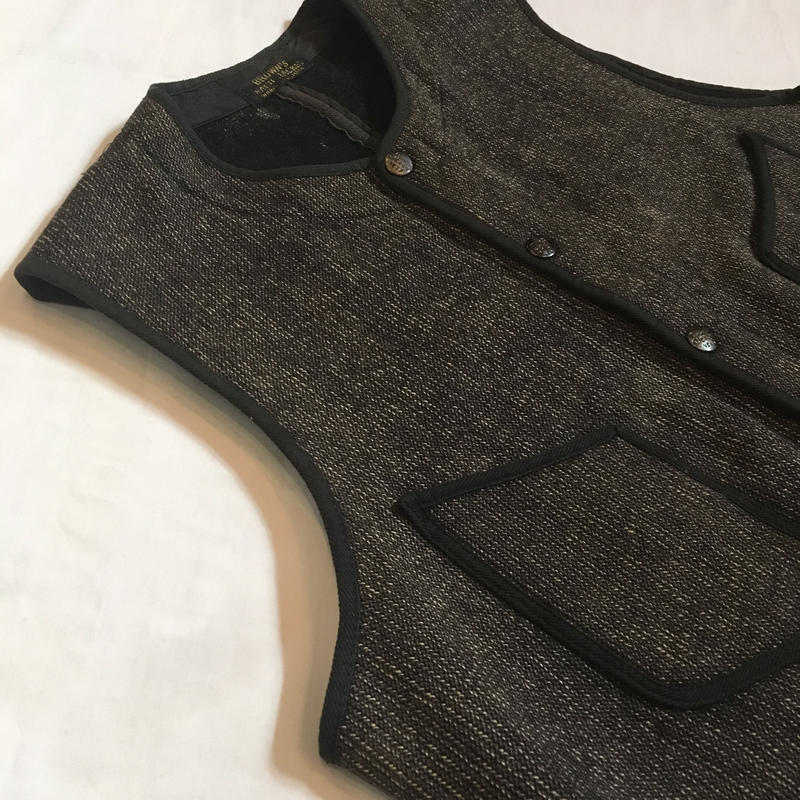 1920〜30's Brown's Beach Wool Vest