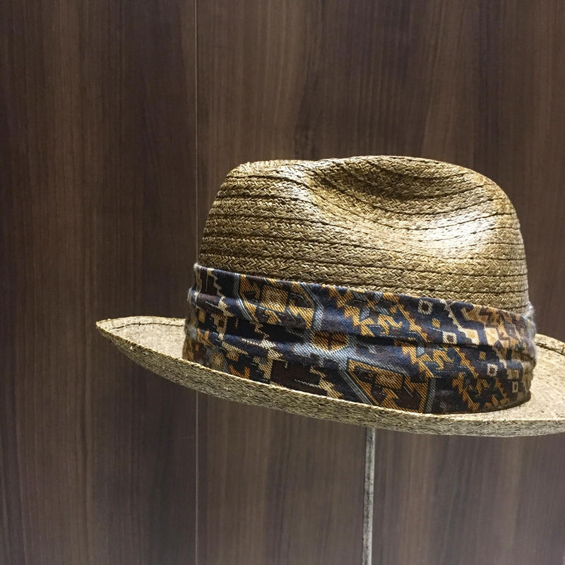 1960's〜 Carlton Club Straw Hat Deadstock