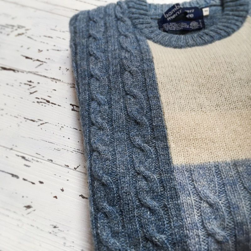 1980's Bamberger's Panel Sweater