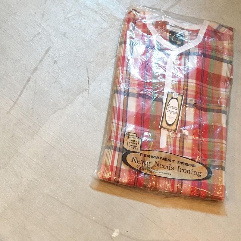 1960's E&W Henlyneck S/S Shirt  Deadstock