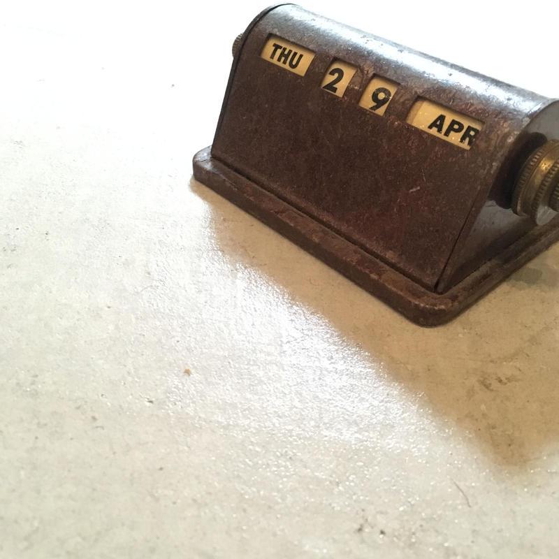 1930's〜 Unknown Desk Calender