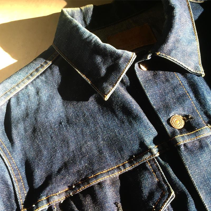 1960's Levi's 70505 Big E Denim Jacket
