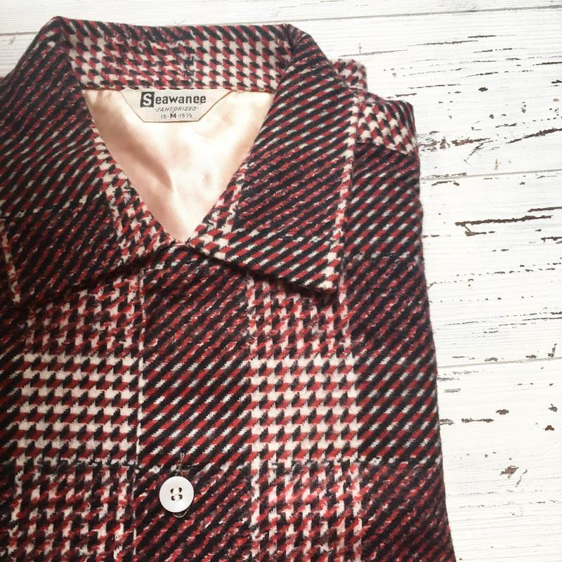 1950's Seawanee Flannel L/S Shirt Deadstock