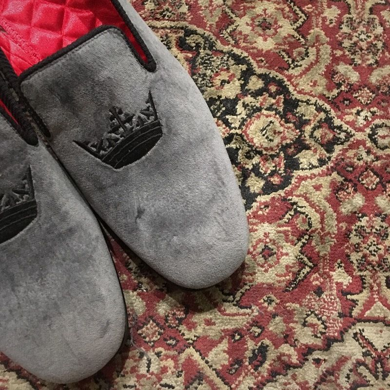 2000's〜 PEAL&CO Brooks Brothers Velvet Shoes Deadstock