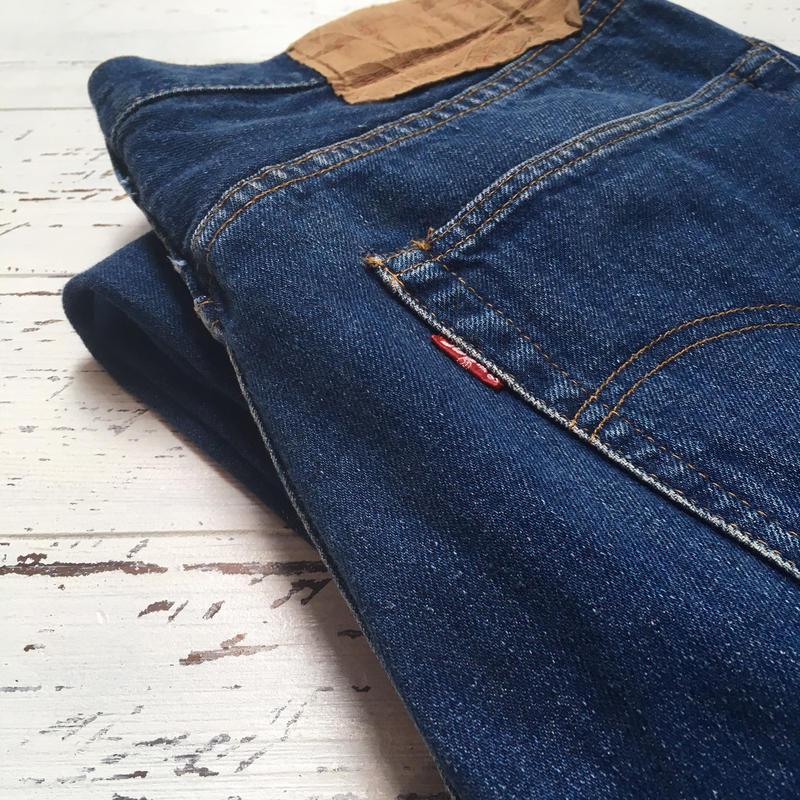 1970's Levi's 501 66 Single Denim Pants