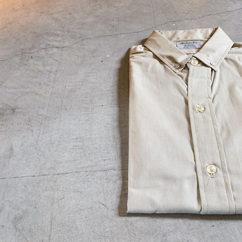 1960's ohrbach's S/S Shirt Deadstock