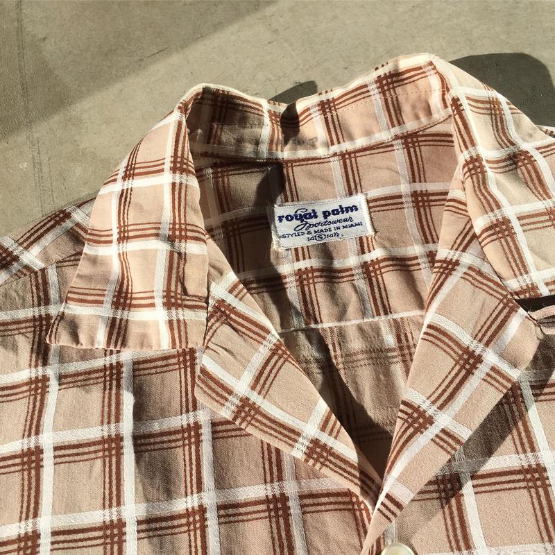 1950's〜 royal palm L/S Shirt