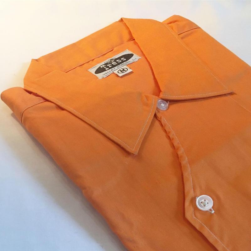 1960's Tress Dubble Breast S/S Shirt Deadstock