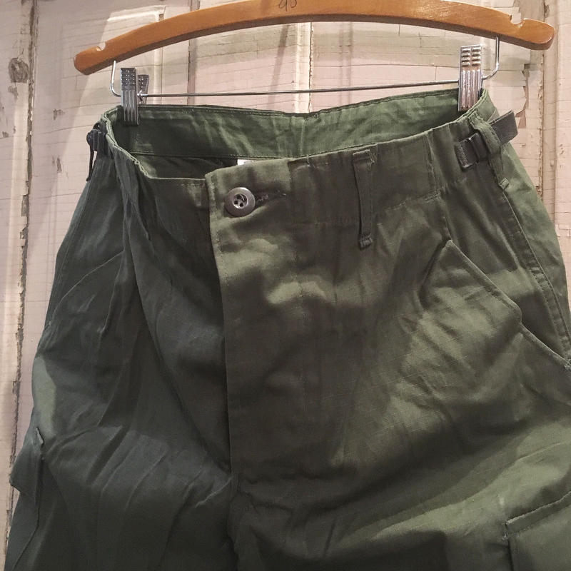 1970's US.ARMY Jungle Fatigue 4th Trousers Deadstock
