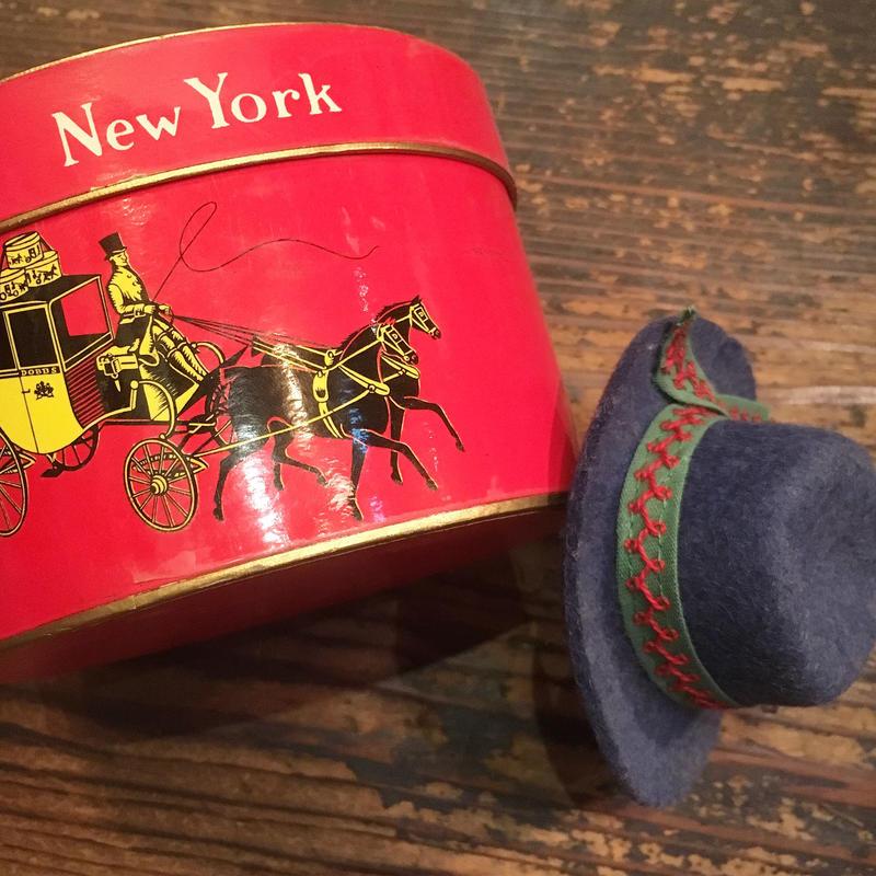 1950〜60's Dobbs Salesman Sample Hat With Box