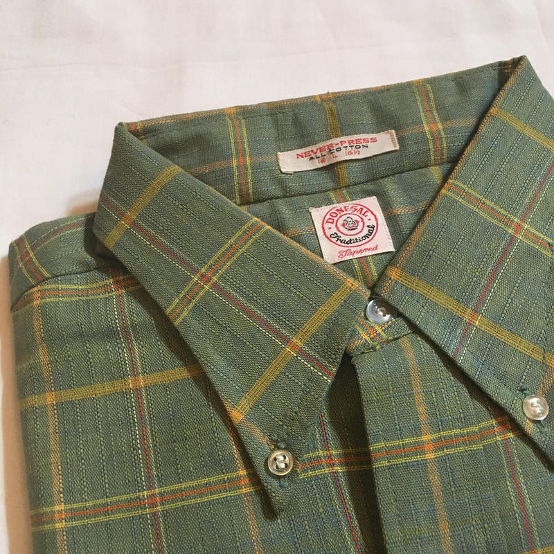 1960's DONEGAL L/S Shirt Deadstock