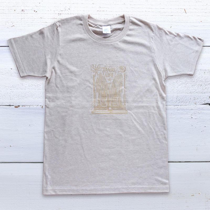 TAGIRI LIFE  cotton T-shirt