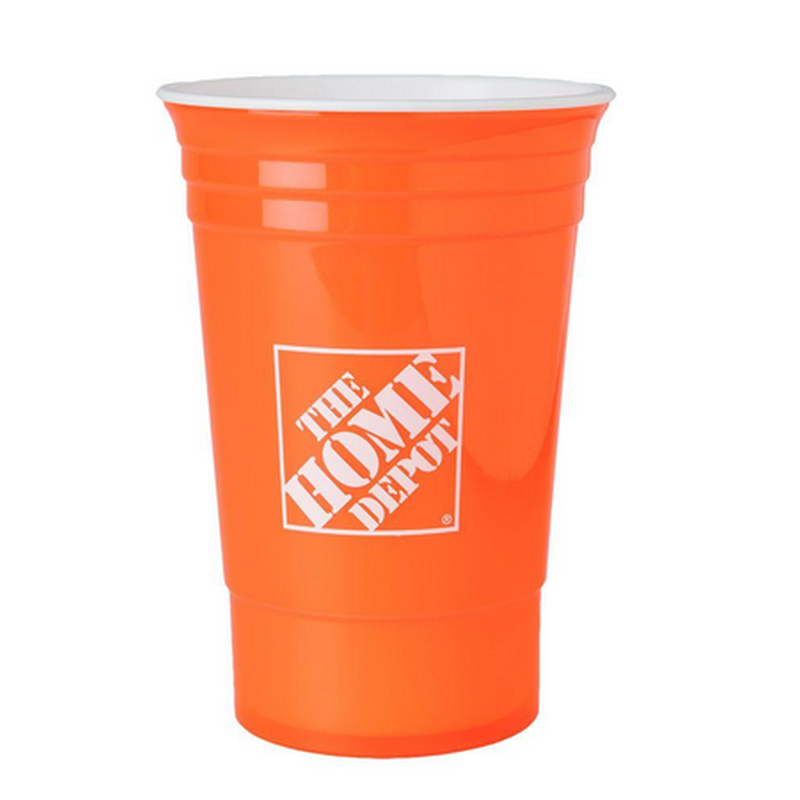 16 oz. Home Depot Cup in Orange