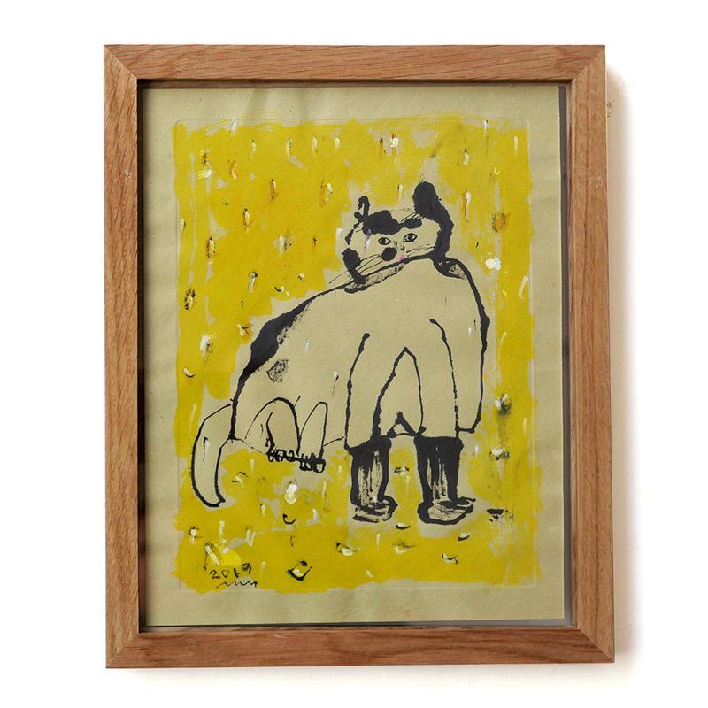 中野真典 作品「長靴をはいたような猫」