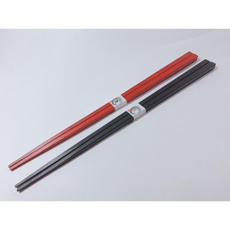 四角箸(黒・朱)各色
