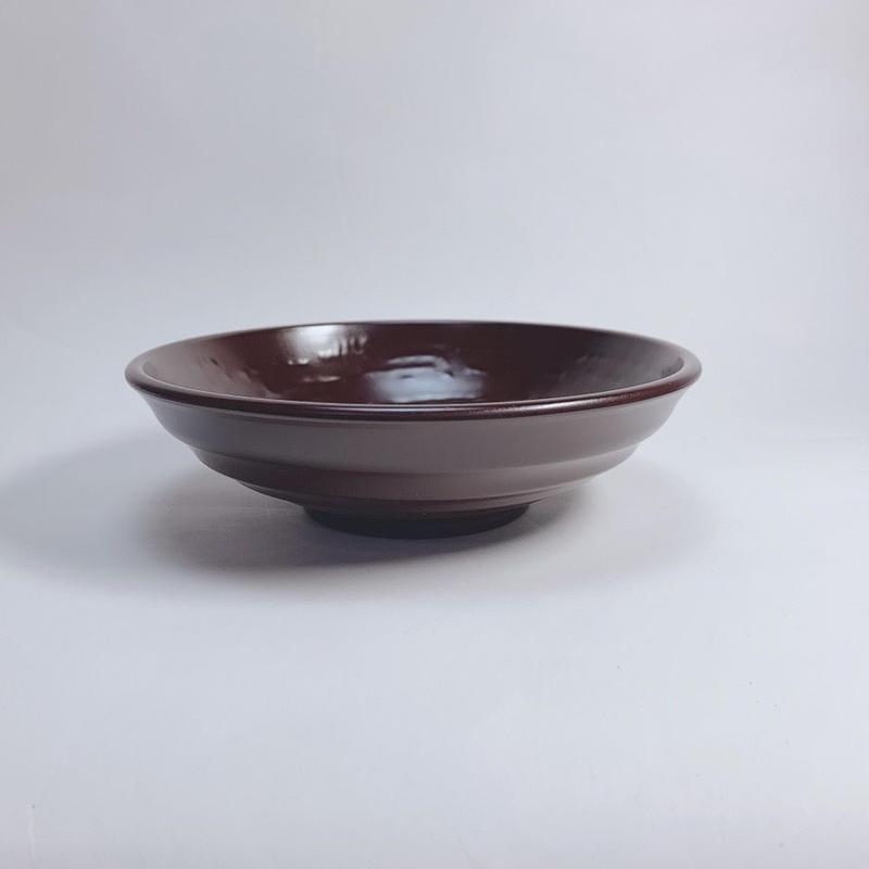 そば鉢(溜)