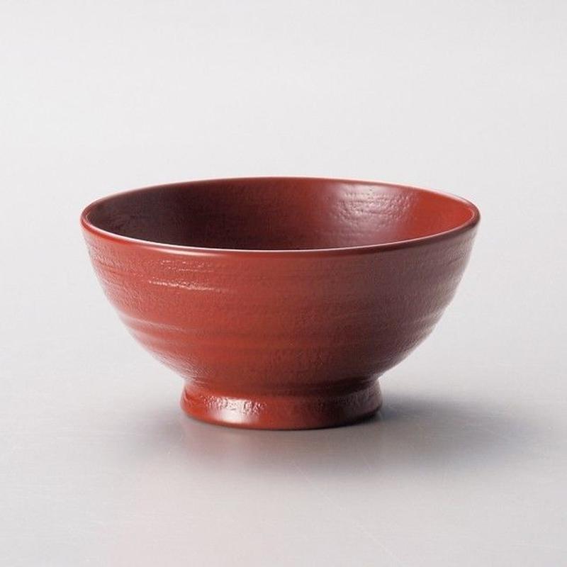 地の粉 飯椀 小(古代朱)