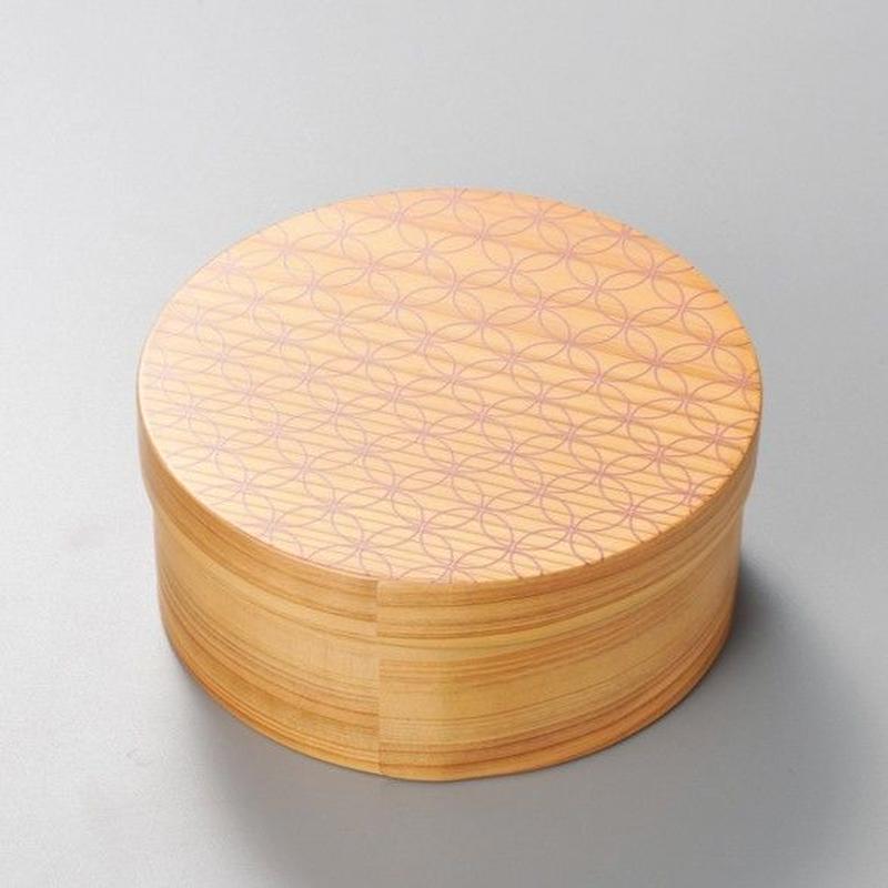 七宝 日本の弁当箱 丸