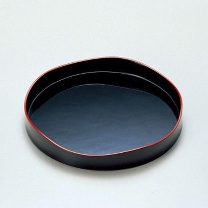 山道盆(黒)