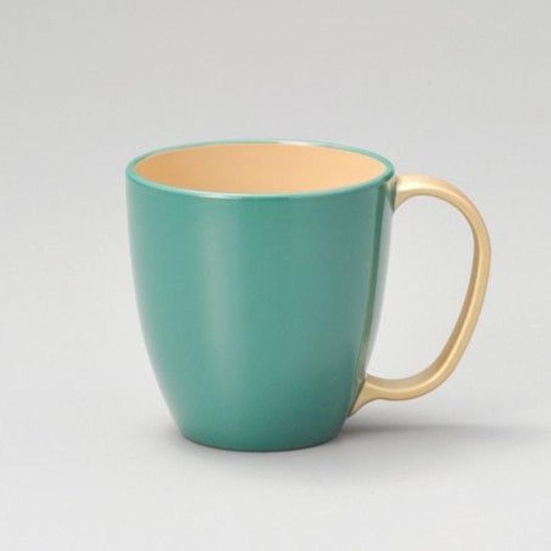 持ち手金 マグカップ(ブルー)