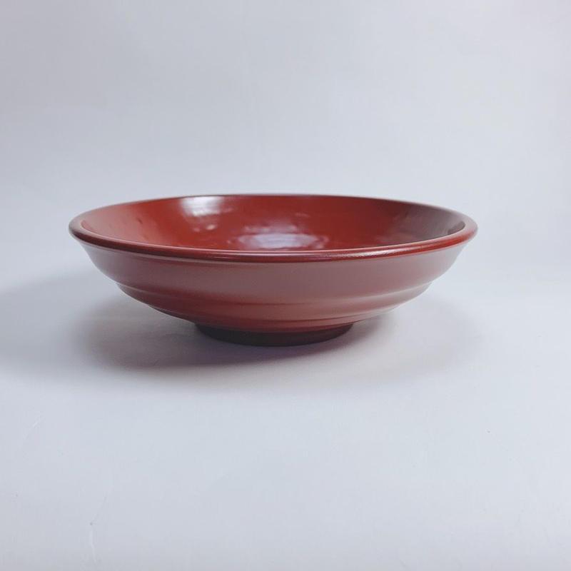 そば鉢(古代朱)