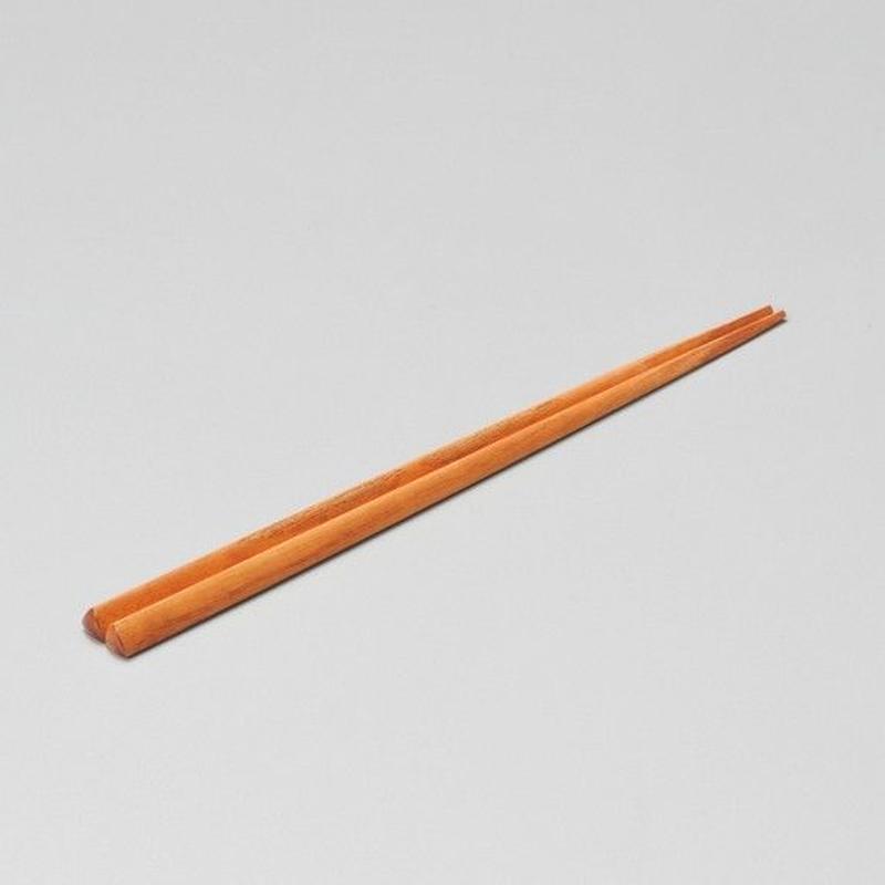 欅 トライアングル箸(天然木目)