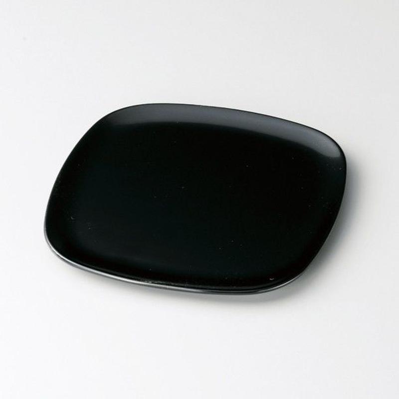 胴張銘々皿(黒)5枚セット
