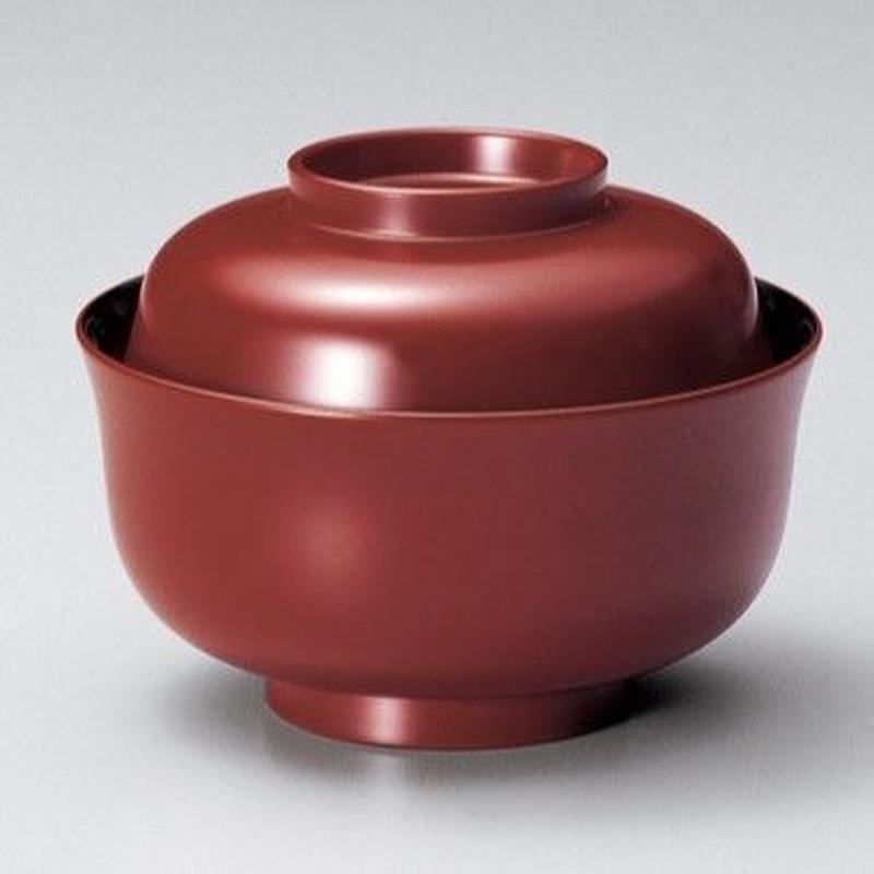 ちどり型煮物椀(古代朱)5客セット