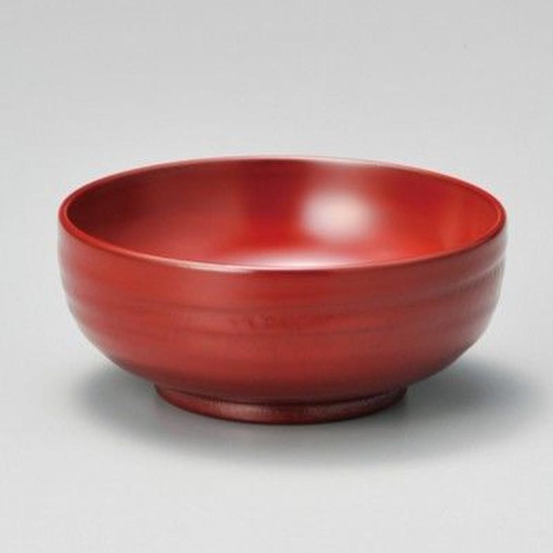 地の粉 スープ椀(古代朱)
