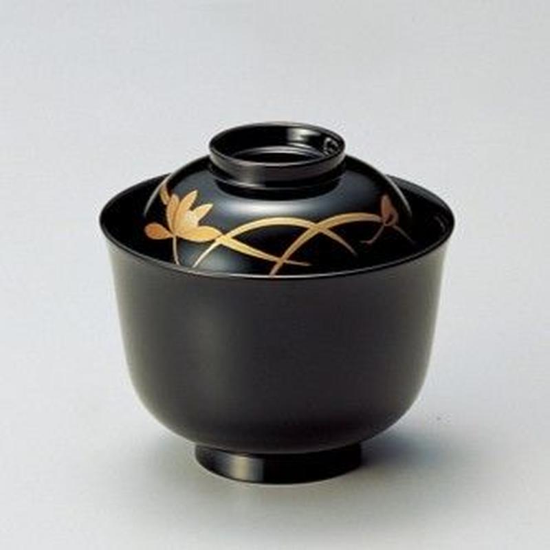 蘭 小吸椀(黒)5客セット