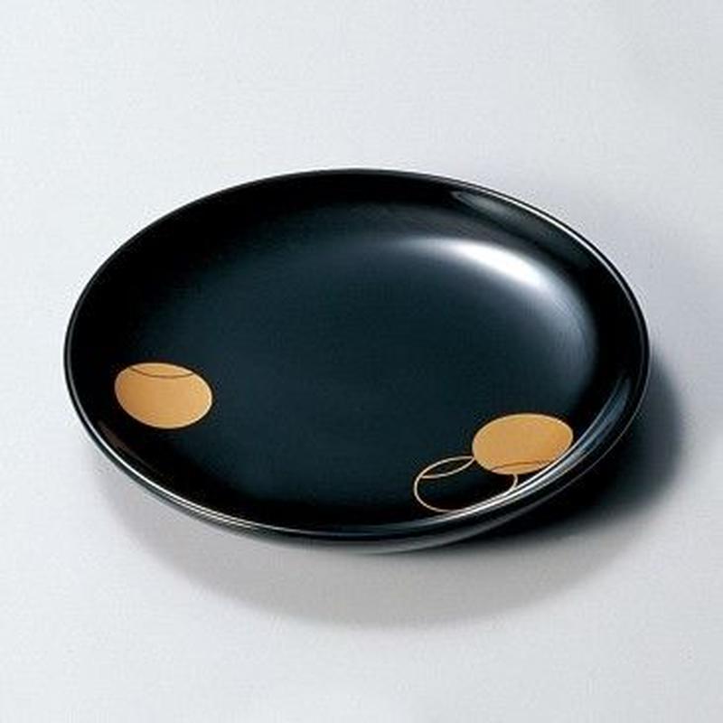 つぼつぼ 銘々皿(黒)5枚セット