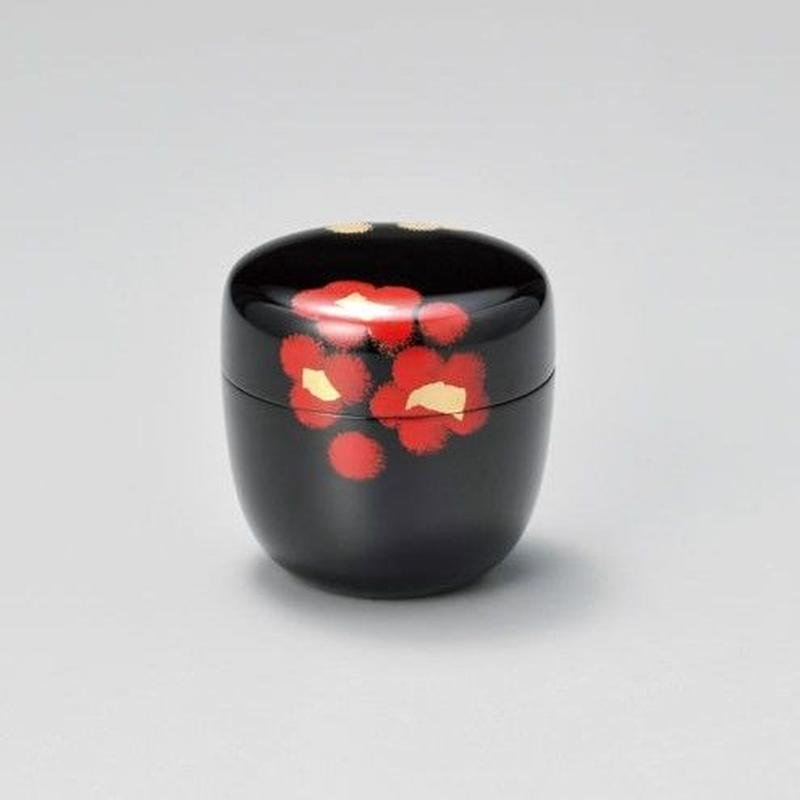 うるし華 中棗(黒)