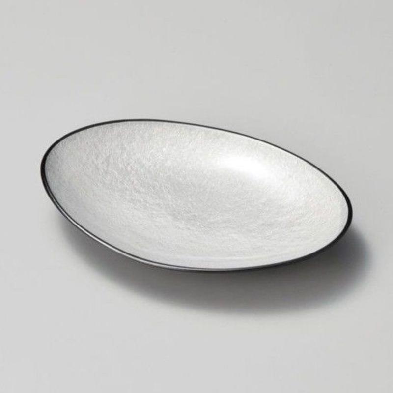 銀雲小判皿