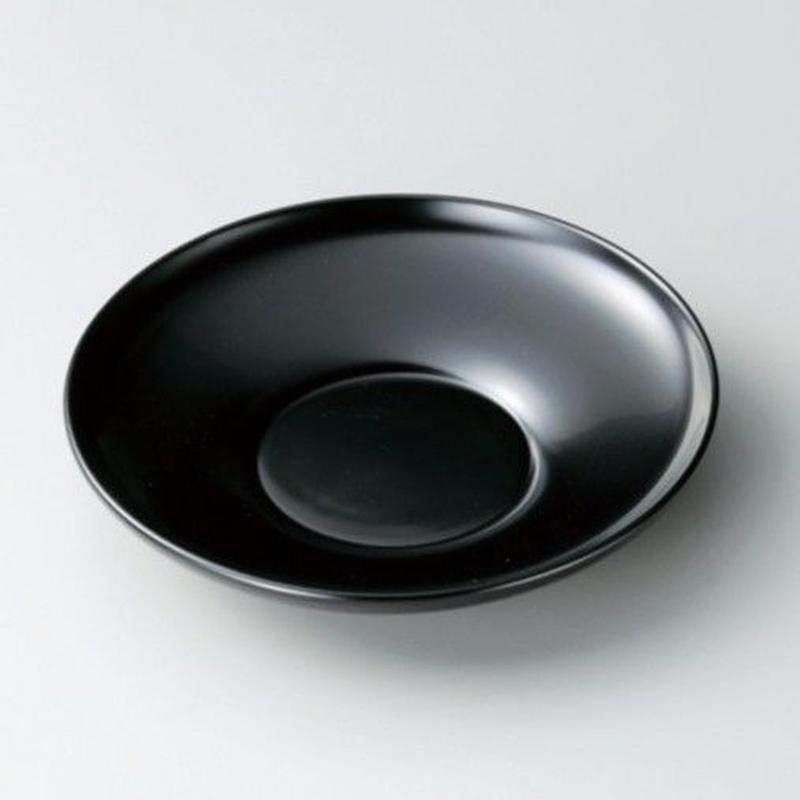 4.2だるま茶托(黒)5枚セット