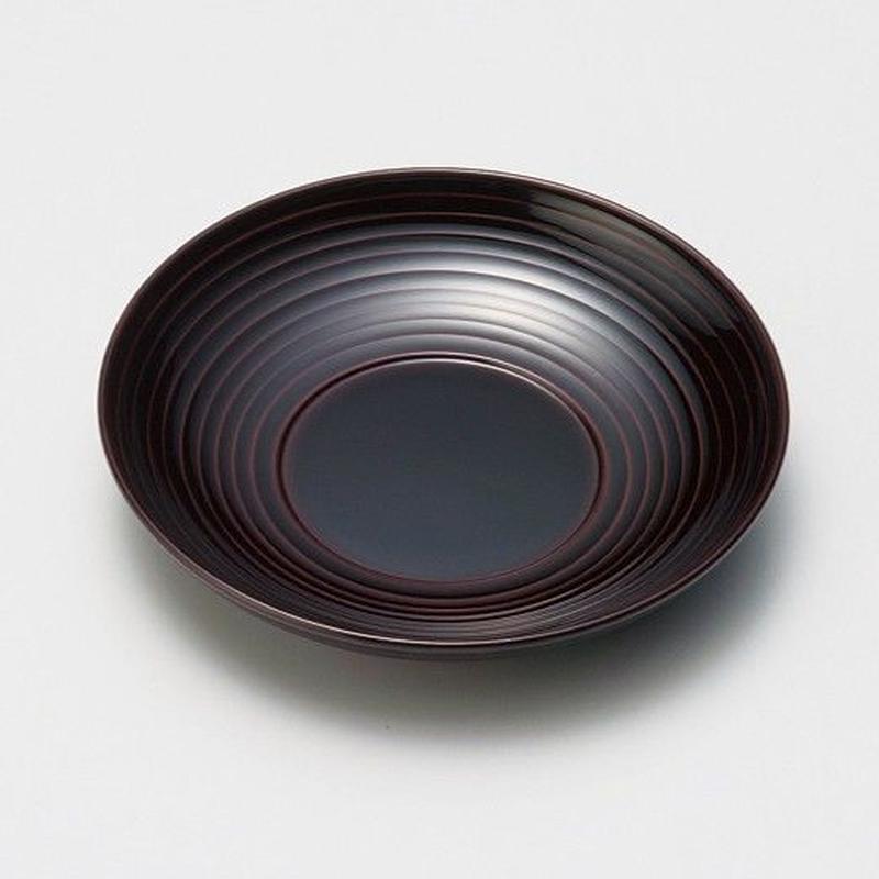 波紋 茶托(溜)5枚セット