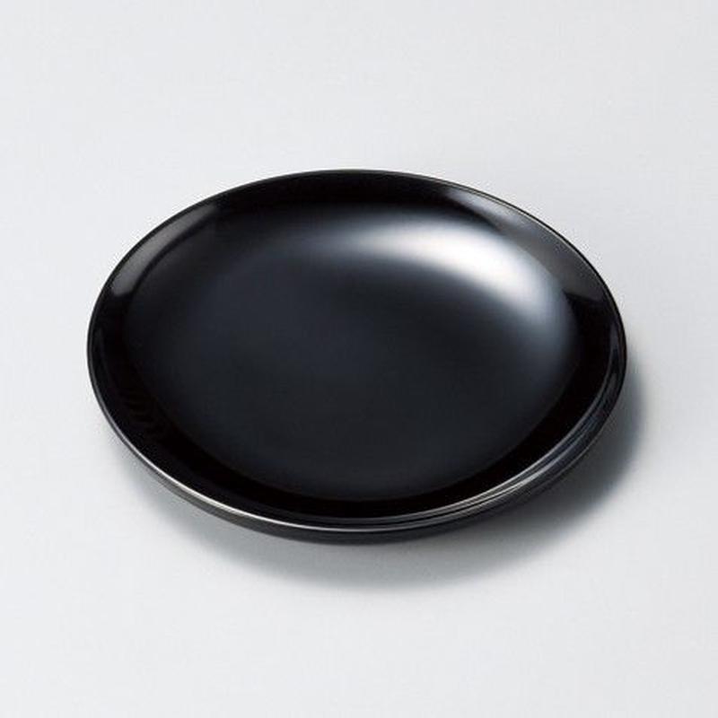 5寸丸銘々皿(黒)5枚セット