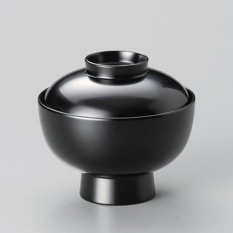 洗浄機対応雑煮椀(黒)