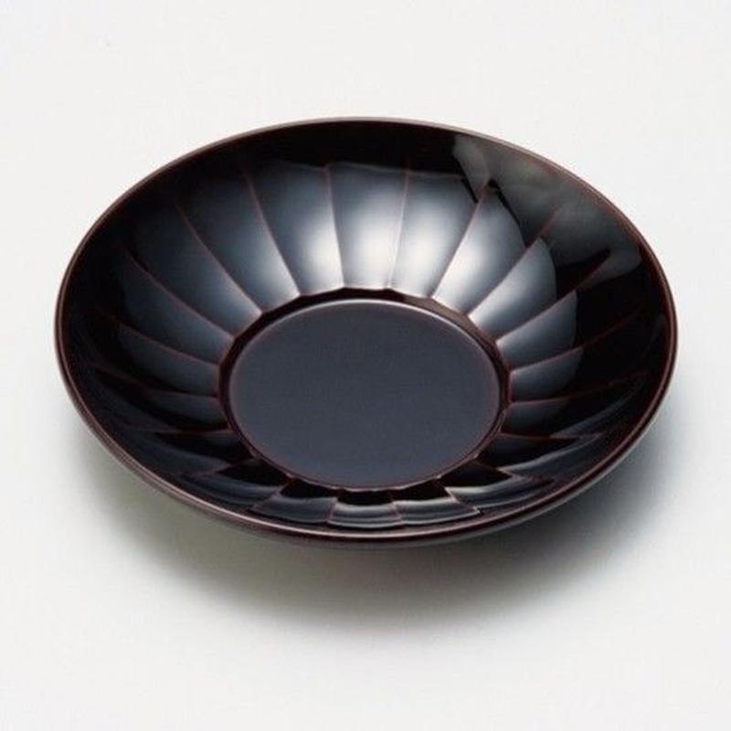 長寿菊 茶托(溜)5枚セット